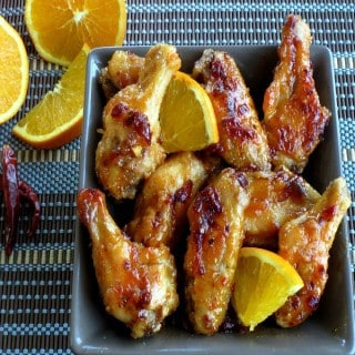 Orange Chipotle Wings