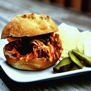 Pulled Chicken Sandwiches