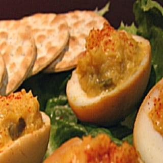 Smoked Devilish Eggs