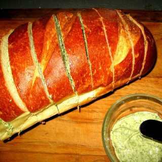 Italian Bread with Herb Butter