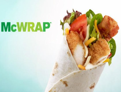 McDonald's Chicken McWraps