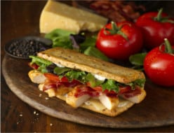 Wendy's Chicken Flatbread Sandwich