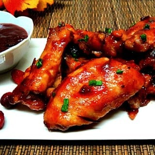 Cranberry Sauce Wings