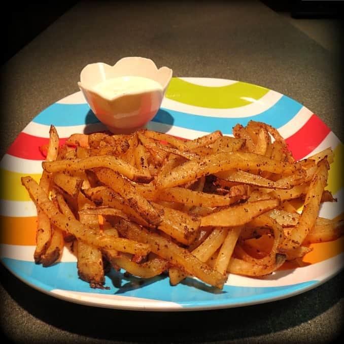 Seasoned Homemade Fries