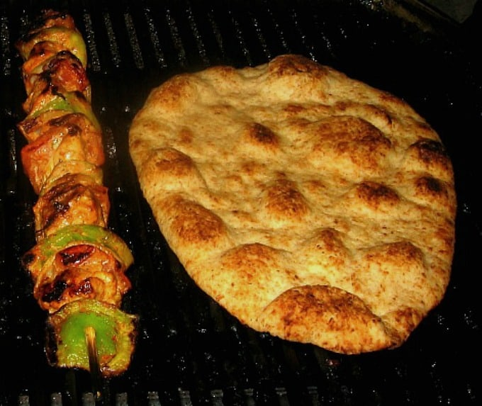Grilled Chicken Tikka with Naan