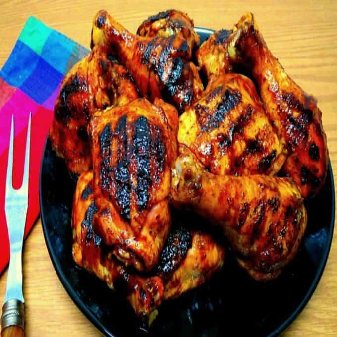 Memphis-Style BBQ Chicken