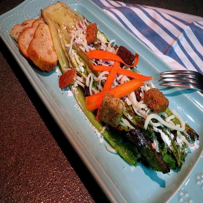 Caesar's Salad Meets Weber's Grill